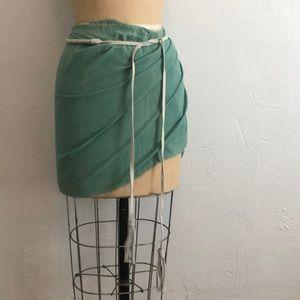 COQUI COQUI swimsuit coverup wrap !